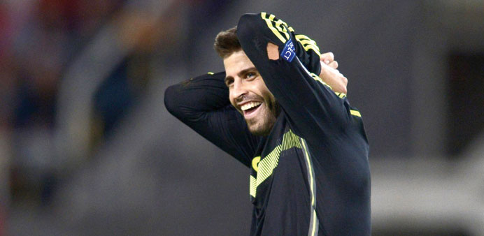 Pique still committed to Spain