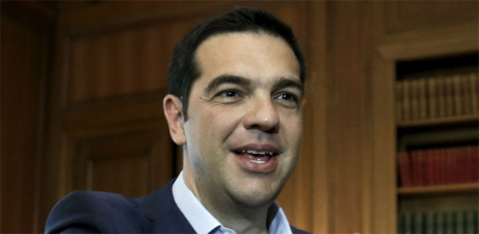 As cabinet row rumbles, Greek PM hails Macedonia name change