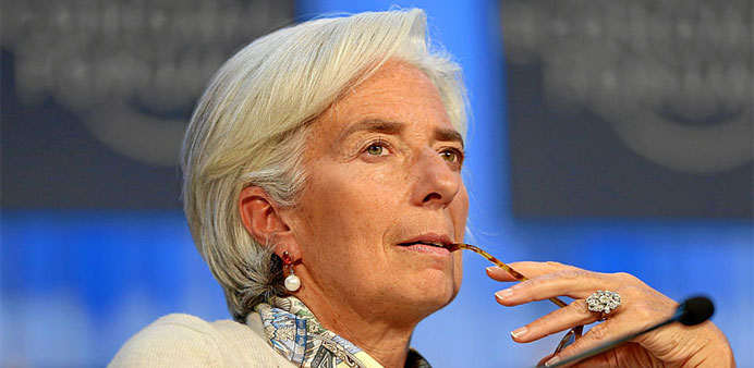 Christine Lagarde to run for second IMF term