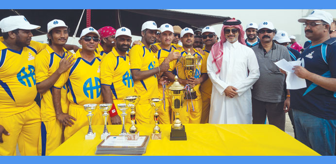AHB Group team takes part in friendly game
