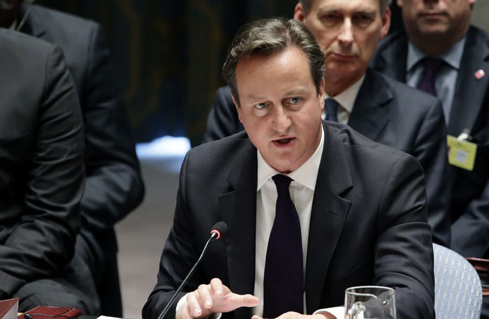 Britain should join Syria air strikes, Cameron tells MPs