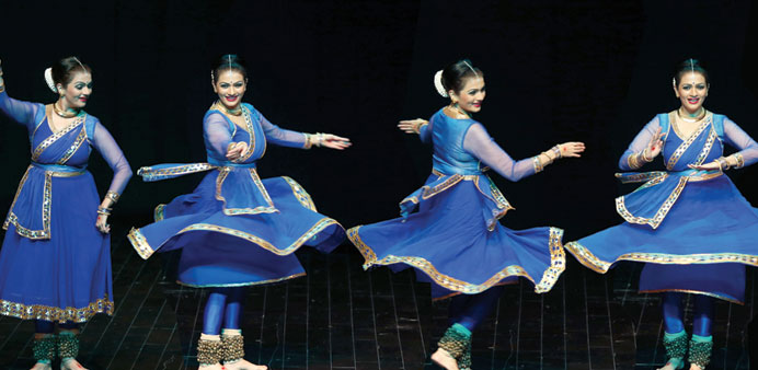 Kathak dancer wows audience at Katara