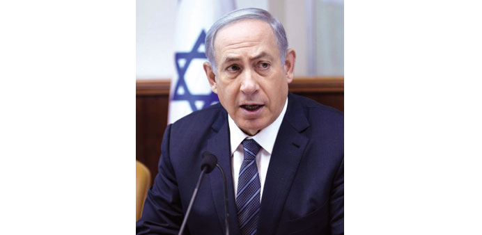 Netanyahu rejects call to let in Syria refugees