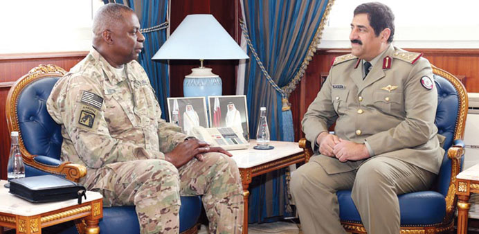 Qatar-US defence ties discussed