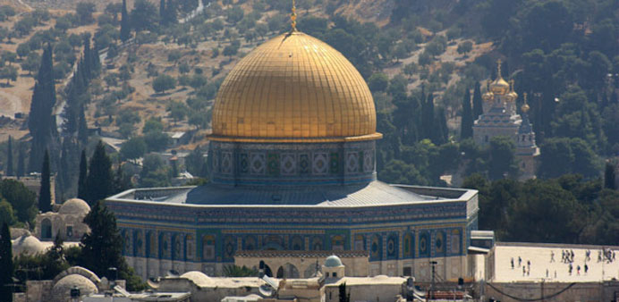 'Israeli occupation authorities exploit American bias to divide Al-Aqsa Mosque'