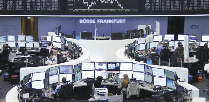 European stocks fall on slow progress in Greek debt talks