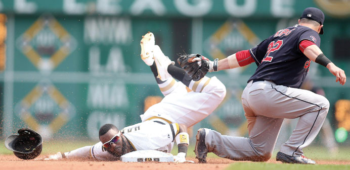 Five-run fifth inning dooms Indians in 5-3 loss to Pirates