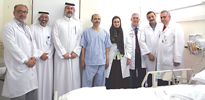 HMC team performs fourth liver transplant