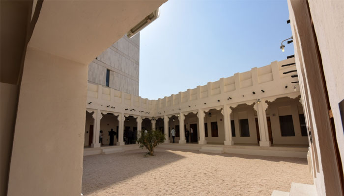 The Radwani House features a courtyard, a key element of old Qatari houses. PICTURES: Noushad Thekka