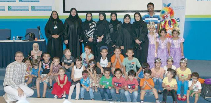 HMC joins QU campaign for children with cancer