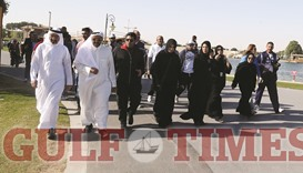 Ministers join thousands for Aspire Zone events