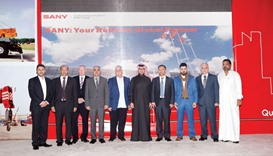 Al Maysan Heavy Equipment showcases SANY crane models