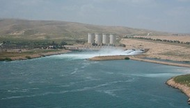 Iraq says risk to Mosul dam affecting anti-IS drive