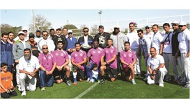 Muntajat organises football games, fun exercises