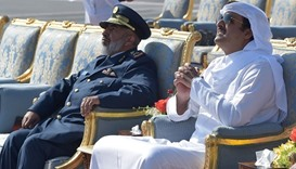 Emir attends Pakistan military air show