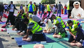 Children, parents learn how CPR saves lives