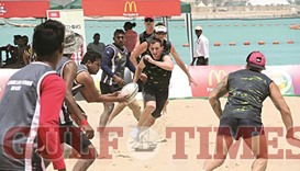 QRF to host beach touch rugby on NSD