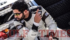 Participants get ready for Qatar International Rally