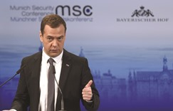 Russian PM warns of a new Cold War