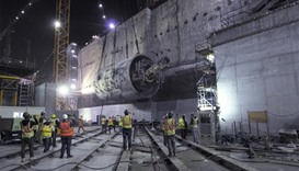 Tunnel boring machines complete work on Doha Metro's Green Line