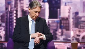 EU reform talks will go to the wire: Hammond