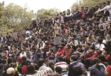 JNU students boycott classes; protests spread