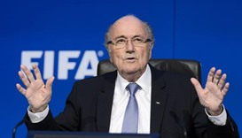 Blatter tries to reverse ban in FIFA appeal