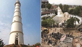 Nepal to rebuild historic Dharahara tower on its own