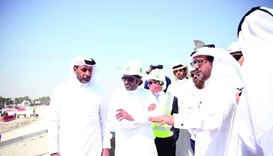 CMC delegation visits Lusail Expressway sites