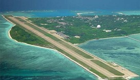 China confirms 'weapons' on disputed island