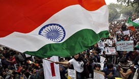 India orders universities to display large flags after protests