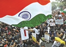 Universities told to fly flag amid sedition row