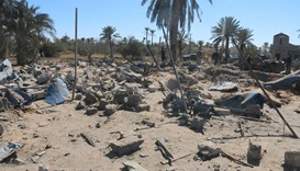 After an airstrike by US warplanes against Islamic State in Sabratha, Libya