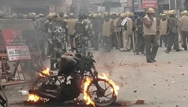 Dozens wounded in Haryana protest