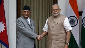 Leaders of Nepal and India mend fences after friction