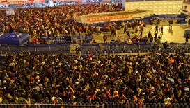'Nearly 100,000' Chinese new year travellers stranded