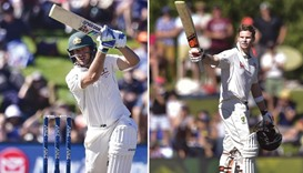 Burns, Smith hit tons to put Australia on top