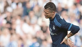Real rue Ronaldo missed penalty in Malaga draw