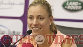 Right time, right place as Kerber eyes Qatar win