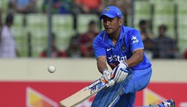 Indian captain suffers back spasm before Asia Cup