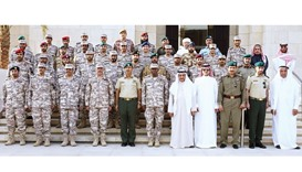 Military college delegation visits GCC office