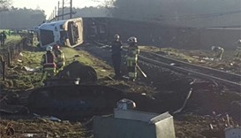 One dead, several injured after Dutch passenger train derails