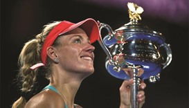 Kerber finally tracks down Australian Open trophy