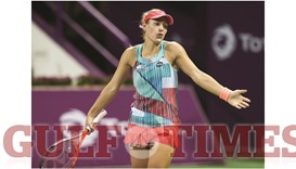 Tuesday trouble: Kerber, Halep crash out