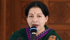 Fans of Indian politician get tattoos for her birthday