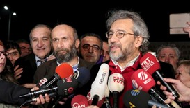 Turkish journalists released from jail in Istanbul