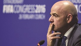 Infantino vows to restore FIFA's image after corruption scandals