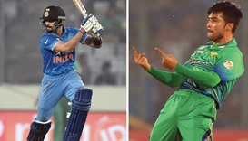 Kohli knock eclipses Amir's dream spell as India win by 5 wickets
