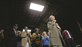 Clinton eyes a decisive win as S Carolina votes