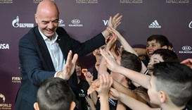 Infantino wants FIFA reforms to turn pain to joy